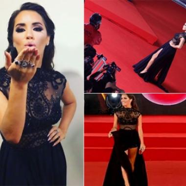 Lali Espósito, súper elegante y sexy en la Gala del Festival de Viña del Mar 2017 (Foto: Instagram)