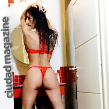 Las fotos hot de Florencia Marcasoli, la novia de Bam Bam Morais