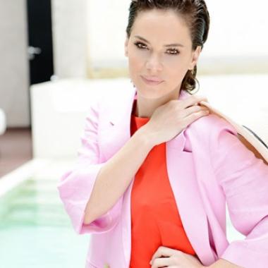 Luz Cipriota, íntima y apasionada: En el amor soy intensa, no me sale ir despacio, doy todo por esa persona