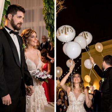 Las fotos del casamiento de Dalma Maradona y Andrés Caldarelli. Fotos: Ruíz y Russo