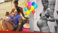 Las tiernas fotos de Marcela Kloosterboer en el primer cumpleaños de su hija Juana. Foto: Instagram