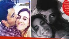 Laura Esquivel y Federico Cedeiro, enamoradísimos. (Fotos. revista Paparazzi)