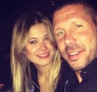 El Cholo Simeone y Carla Pereyra se convirtieron en padres de una nena (Foto: Instagram)
