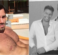 ¡Un fuego! La foto súper hot del novio de Ricky Martin tomando sol. Foto: Instagram
