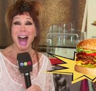 Moria Casán contó cuándo fue la última vez que cocinó: Fue una hamburguesa para Sofía cuando tenía 10 años