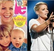 Pink, tapa de la revista People, le pone fin a la elección de la mujer más linda del mundo