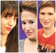 Ainelén, Bárbara y Mauricio son los nuevos nominados de Gran Hermano 2016 (Fotos: Web)