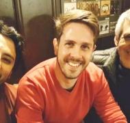 ¡Felicidad! Peteco Carabajal se reencontró con su primer hijo tras 32 años (Foto: Facebook)