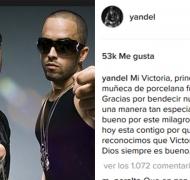 El mensaje de Yandel para la hijita de Wisin.