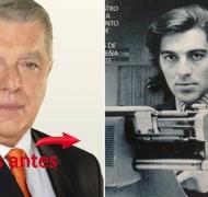 ¡Qué cambiado! Mirá la foto retro de Santo Biasatti, un galán de redacción. (Foto: Web y revista Luz)