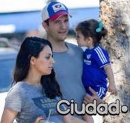 El llamativo nombre del segundo hijo de Ashton Kutcher y Mila Kunis (Foto: Grosby Group)