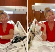 El dolor de Solita tras fracturarse una vértebra durante sus vacaciones en Punta del Este. (Foto: Instagram y Twitter)