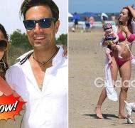 ¡Tapate, neta! El blooper hot de Floppy Tesouro en las playas de Punta. Foto: revista Caras - Ciudad.com