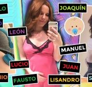 Agustina Kämpfer reveló el nombre de su bebé en camino