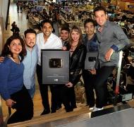 eltrece logró el botón dorado en YouTube por superar el millón de suscriptores