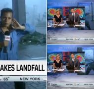 ¡La furia de la naturaleza! Periodista de la CNN es arrastrada en vivo por el huracán María