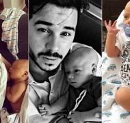 Las fotos de Bautista, el bebé de Nicolás Magaldi