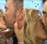 Tras confirmar el romance, ¡Fede Hoppe y Maca Rinaldi y se comieron la boca en vivo!