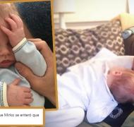 La desopilante foto-humorada de Marley sobre el día que su hijo se enteró que él es su papá
