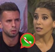 Matías Defederico y Cinthia Fernández