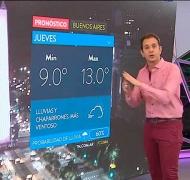 La furia del pronosticador de TN: El Servicio Meteorológico Nacional es una vergüenza