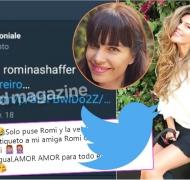 El mensaje de Loly Antoniale tras arrobar a la novia de Jorge Rial (Fotos: Web, Captura de Twitter e Instagram)
