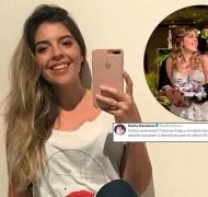 El romántico tweet de Dalma Maradona a su marido