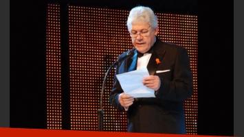 Carlos Sciacaluga, presidente de Aptra, adelantó detalles del Martín Fierro (Foto: Web)