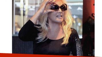 Al final del día, Susana fue a ver una película (Foto: Revista ¡Hola! Argentina)