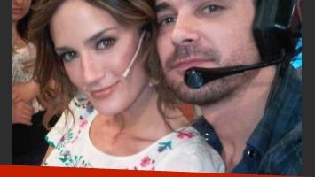 Paula y Peter, en los estudios de La Cocina del Show (Foto: web)