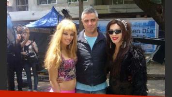Diego Rafecas junto a Claudia Albertario y Nacha Guevara.