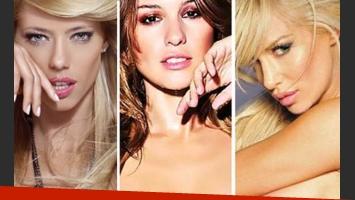 Nicole, Pampita y Luli Pop calentarán la pasarela del BAAM. (Foto: Web)
