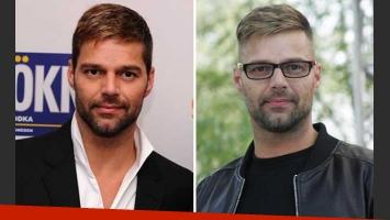 El nuevo look de Ricky Martin (foto: WEB)