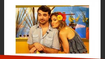 Pedro Alfonso y Paula Chaves, en tiempos felices. (Foto: Web)
