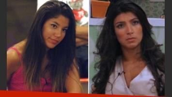 Gisele Marchi y Solange Gómez luchan por seguir en Gran Hermano 2011. (Fotos: Telefe)
