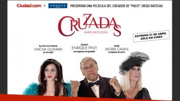 Ciudad.com te invita a la Avant Premiere de Cruzadas