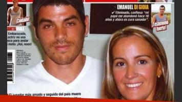 La dramática carta de Mari, la novia de Cristian U. (Foto: revista Paparazzi)