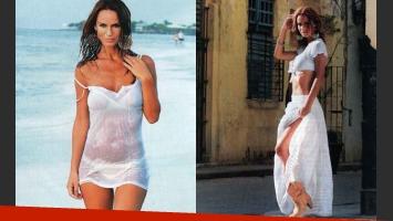 Sabrina Rojas en Cuba. (Foto: revista Gente)
