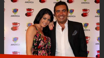 Pamela David y Diego Pérez conducirán Desayuno americano. (Foto: Prensa América).