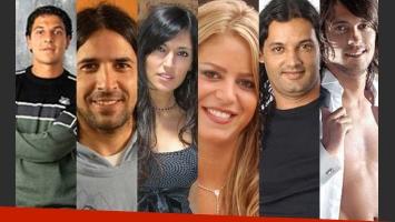 Marcelo Corazza, Roberto Parra, Viviana Colmenero, Marianela Mirra, Diego Leonardi y Bam Bam.