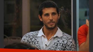 Leandro, el tercer eliminado de la casa. (Foto: Prensa Telefe)