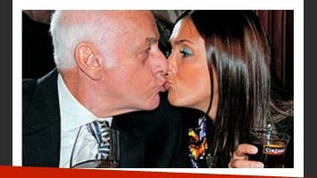 Gerardo Sofovich y Sofía Oleksak, juntos es mejor. (Foto: Archivo Web).