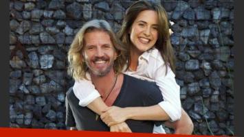 Facundo Arana y Julieta Díaz. (Foto: Prensa Telefe)