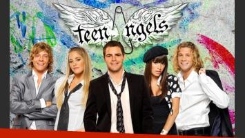 Los Teen Angels grabaron el videoclip del tema