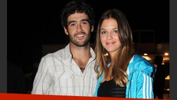 Kloosterboer y su novio desde hace tres años, Fernando Sieling (Foto: Web).