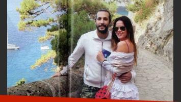 La pareja visitó la antigua Via Krupp, que recorre la isla de Capri. (Foto: revista Gente)