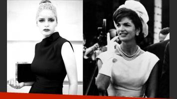Romina Richi jugó a ser Kackie Kennedy, un ícono mundial de la moda (Foto: Web).