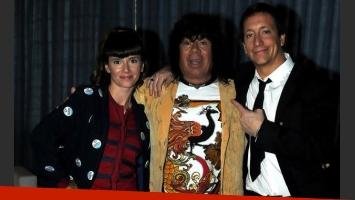 La Mona Jiménez realizó una participación especial en Los Unicos. (Foto: prensa El Trece)