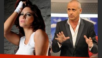 Adabel Guerrero y Jorge Rial. (Foto: Web)