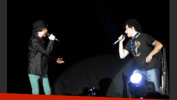 Joaquín Sabina y Andrés Calamaro, juntos otra vez (Foto: Web)